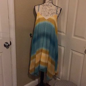 NWOT Allen B.  V-neck summer dress